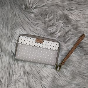 Fossil wallet with hearts